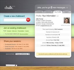 Chalk Interface