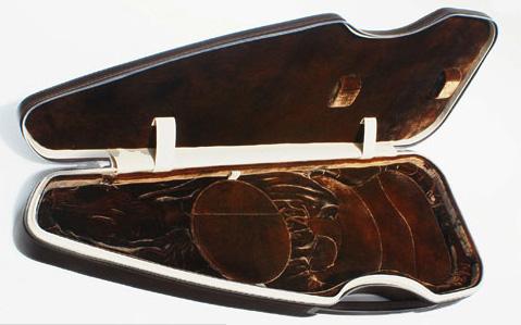 Nutty British guitar case