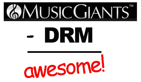 MusicGiants To Go DRM-Less