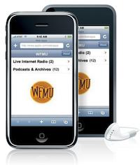 WFMU Radio on the iPhone