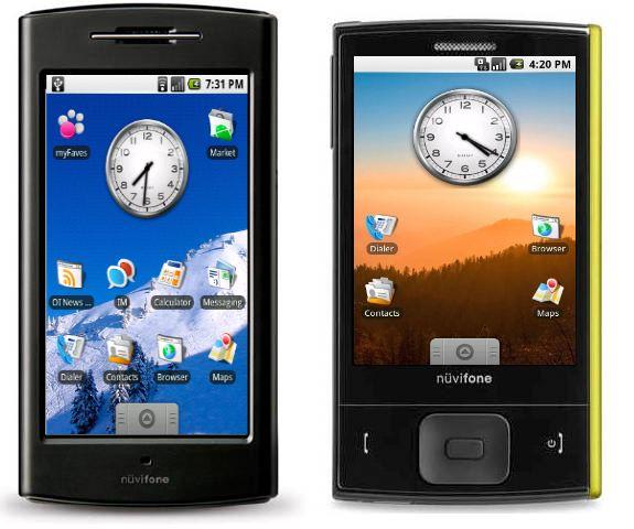 androidnuvifone