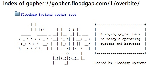 gopher-overbite