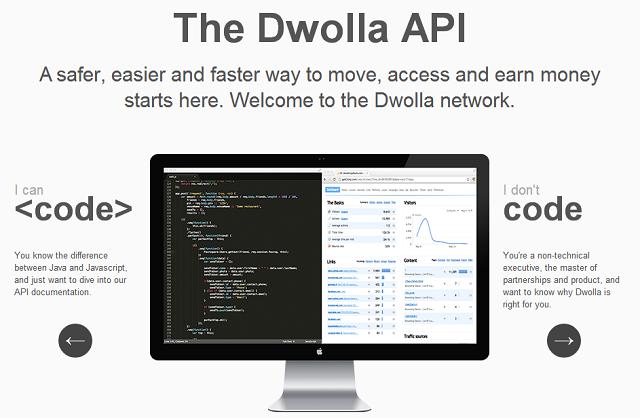Dwolla screenshot