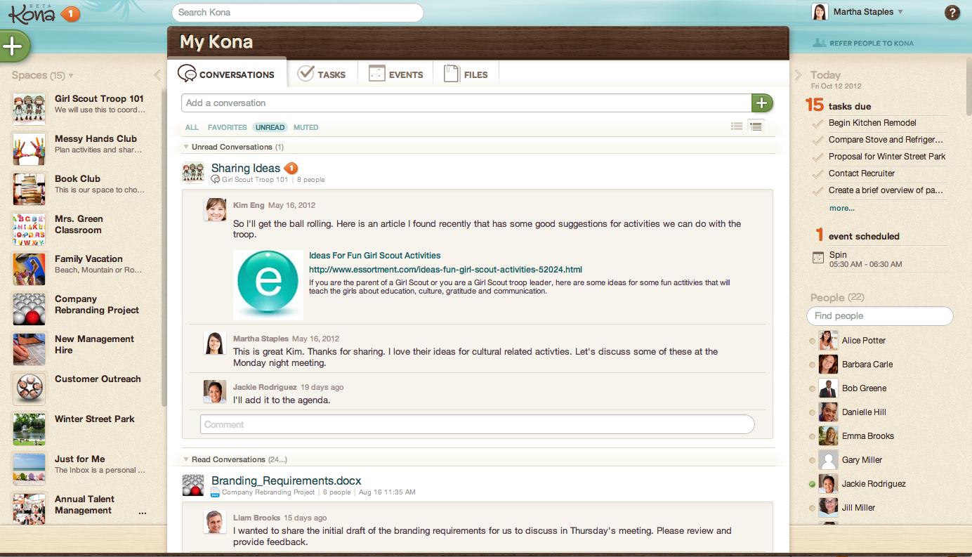 Deltek Kona screenshot 1