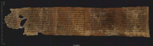 10 COMMANDMENTS - photo credit Shai Halevi, courtesy of Israel Antiquities Authority
