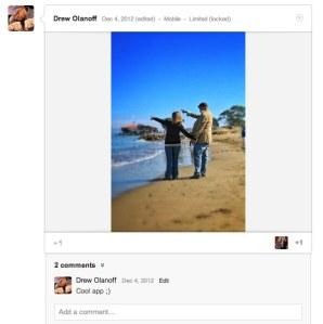 (39) Drew Olanoff - Google+