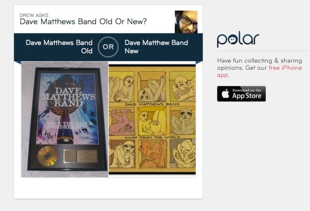 Dave Matthews Band Old Or New? | Polar
