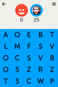 This poor dude who played me at Letterpress