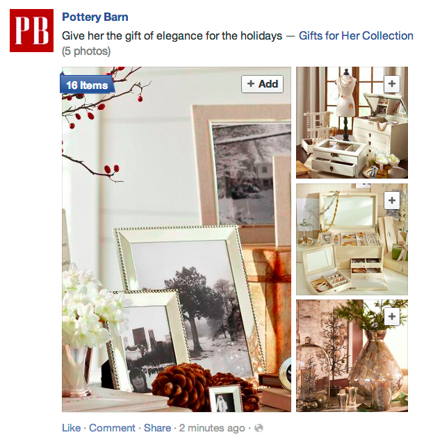 Pottery Barn Collections 1