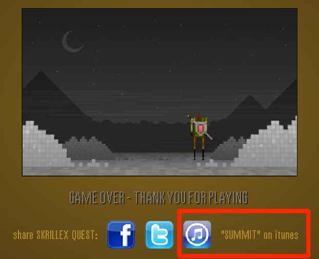 SkrillexQuest Game Over Buy On iTunes done-1