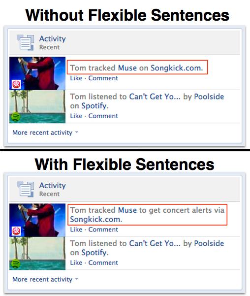 Facebook FLexible Sentences Done