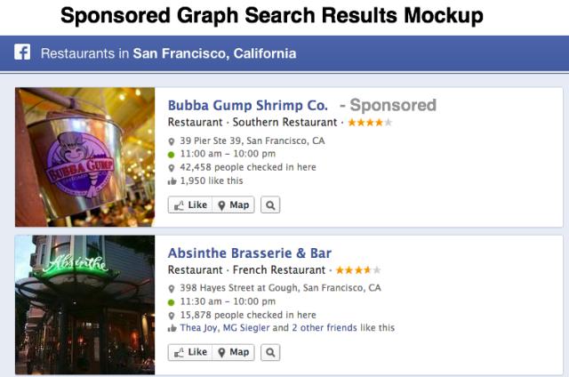 Facebook Sponsored Graph Search Mockup Small