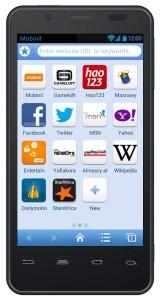 Orange-Baidu browser apps page