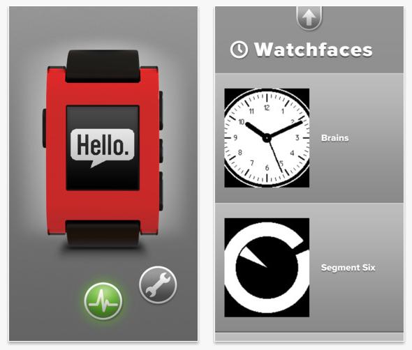 pebble-app-screens