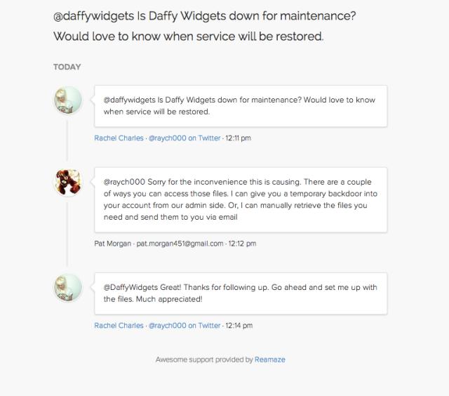 daffywidgets