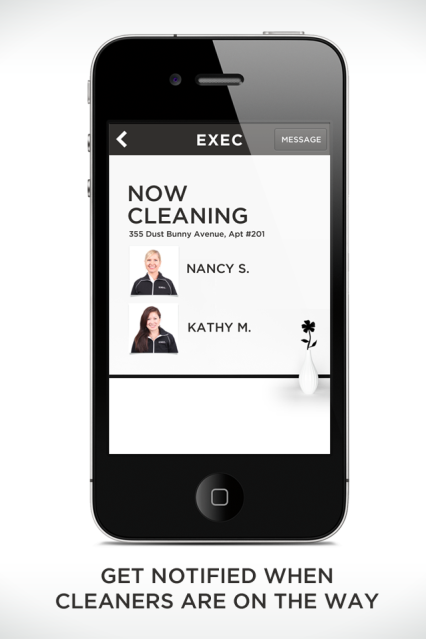 Exec Cleaning App 3