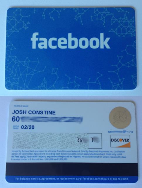 Facebook Gift Card Photo