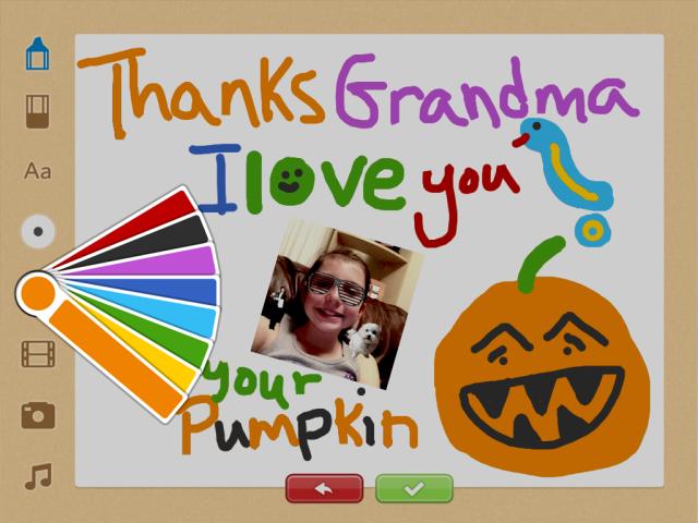 WishPop - Thank You Grandma