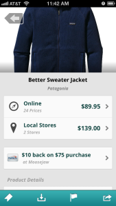 capital one deal in shopsavvy