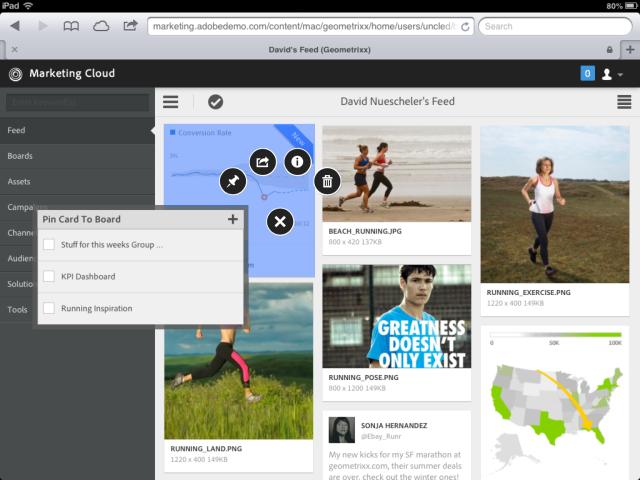 adobe marketing cloud newsfeed