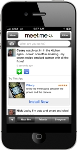 meetme iphone ad