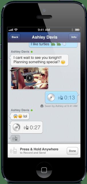 MessageMe iOS1