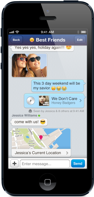 MessageMe iOS2