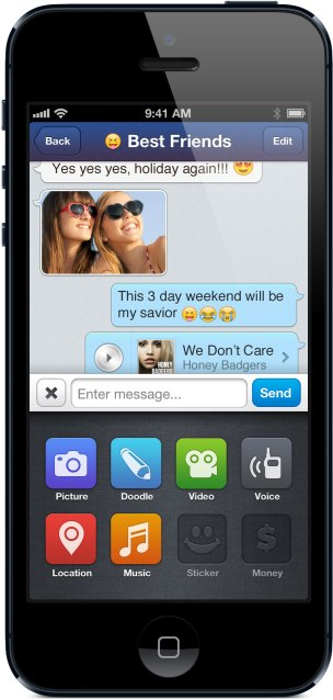 MessageMe iOS3