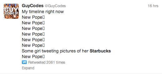 tweet with line breaks