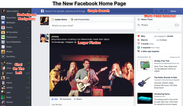 The New Facebook Done