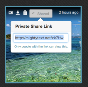 07 - zoomed in - quick share dialog box - ocean photo