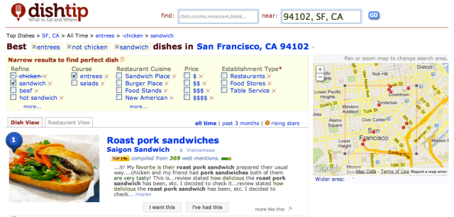 Best Dishes SF