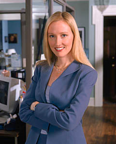 The West Wing's Donna Moss