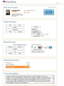 HealthSouk - Booking Page - Page 3