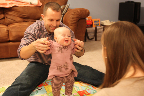 Jen Baumgartel opted for in-vitro fertilization after learning for a Counsyl test that she and her husband were carriers for the severest form of Smith-Lemli-Opitz syndrome.