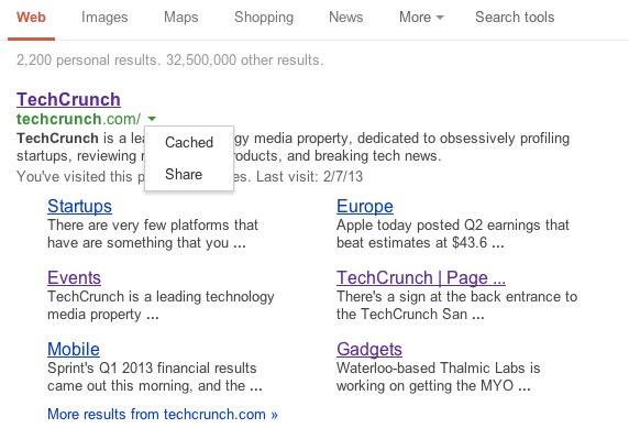 techcrunch - Google Search