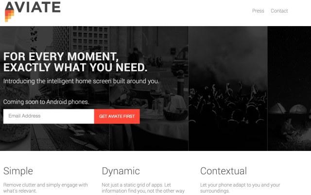 aviate-homepage