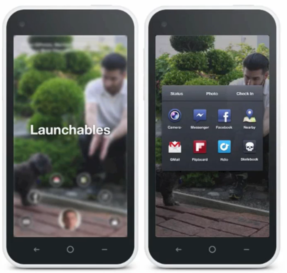 Facebook Home Launchables Prototype