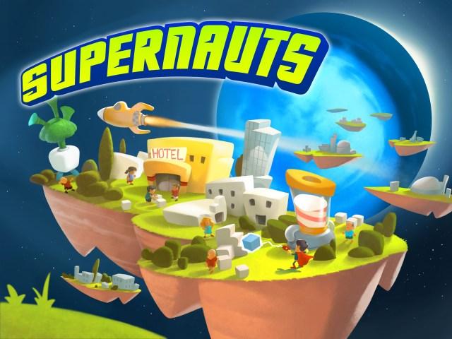 Supernauts Title Image