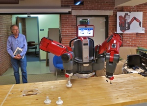 Rethink Robotics' Baxter.