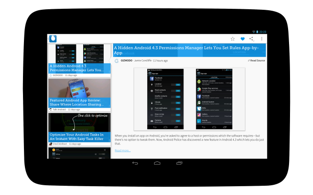 Drippler - Nexus 10