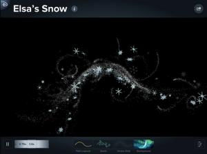 snow disney animated