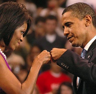 Fist Bump Obama