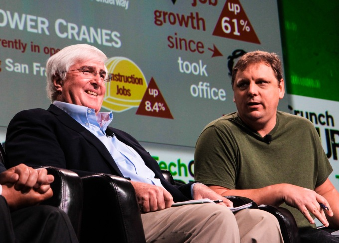 ron conway with michael arrington