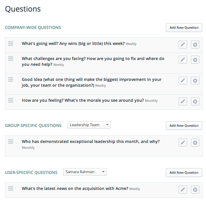 Question Page Detail