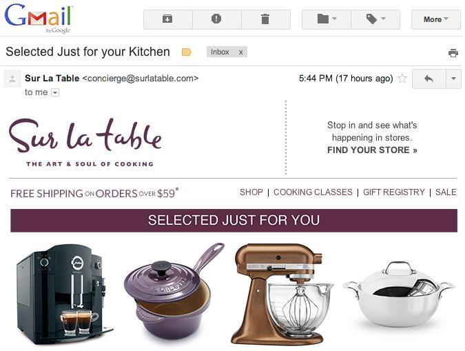TellApart Email