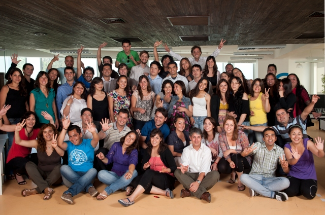 The ComparaOnline team in Santiago, Chile
