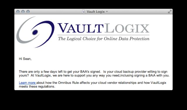 VaultLogix HIPAA