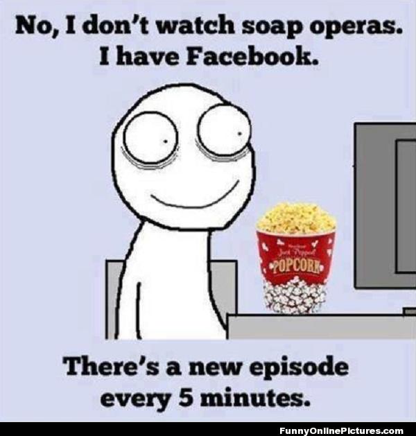 Facebook-soap-opera