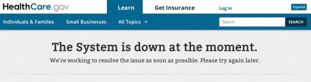 Healthcare.gov-website-down